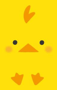 動物(ひよこ)【無料ダウンロード】|ポチ袋