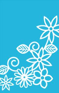 花畑(空色)【無料ダウンロード】|ポチ袋