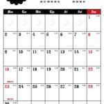 2019年ゴシックカレンダー(縦1ヶ月/ポストカード) UPしました。