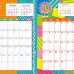 2019年キッズポップカレンダー(縦2ヶ月/A4) UPしました。